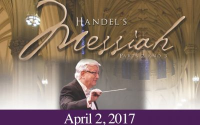 2017 Concert: Handel's Messiah Parts II and III
